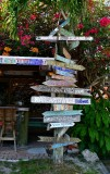 Signs at Hogfish Bar & Grill, Stock Island, Key West, Florida 631
