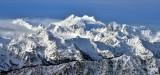 Mount Olympus, Hoh Glacier, Blue Glacier, Mt Mathias, Olympic National Park, Washington State 686