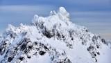 Peak in Olympic Mountains, Washington State 342