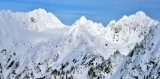 Mount Anderson, Anderson Glacier, Olympic National Park, Olympic Mountains, Washington State 425