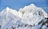 Mount Anderson, Anderson Glacier, Olympic National Park, Olympic Mountains, Washington State 434