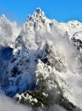 Heybrook Ridge, Gunn Peak, Cascade Mountains, Washington State 349