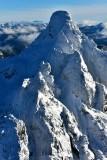 Merchant Peak in Cascade Mountain Range, Washington State 685