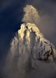 Gunn Peak in Mid-Afternoon Light, Cacade Mountains, Index, Washington State 602