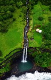 Waiokamilo Stream waterfall, Wailua, Maui, Hawaii 700