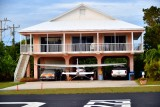 Home and airplane at Tavernaero Park Airport, Tavernier, Florida 896