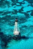 Alligator Reef Lighthouse and Alligator Reef, Florida Keys, Islamorada  089a