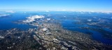Seattle, West Seattle, Lake Washington, Mercer Island, Floating Bridges, Puget Sound, Mt Baker, Boeing Field, Washington 231