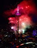Space Needle New Year Eve Fireworks 2018 Seattle Washington 409