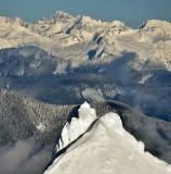 Three Fingers Mountain and Lookout, Cascade Mountains, New Year Eve 2018, Washington State 474