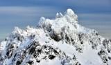 Peak in Olympic Mountains, Washington 340