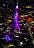Space Needle at start of New Year 2019, Seattle, Washington 143