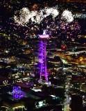 Space Needle on New Year 2019, Seattle, Washington 149