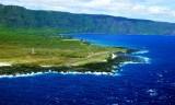 Left downwind at Kalaupapa Airport, Kalaupapa Peninsula, Kalaupapa, Moloka'i, Hawaii 052