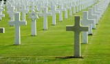 Endless Crosses at Normandy American Cemetery, Colleville-sur-Mer France 114a