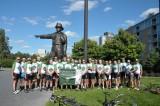 Toronto Fire Celtic Society, Memorial Ride To Ottawa