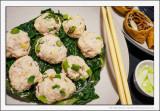 Chicken and Garlic Balls