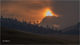 Montana  Sunrise on a smoky day