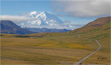Denali  elevation 20,310 feet ( they say only 30% get to see it in clear skies, we were lucky)