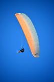 Paraglider at Tauranga, New Zealand.