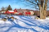 A Good March Snowfall at the Great Barn