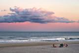 Late Day Beach Encampment