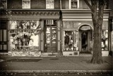 Two Gay Street Shops BW