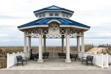 All Is Quiet at the Sea Isle Gazebo