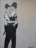 Kissing Coppers. 2005