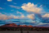 Last light, Mojave Desert