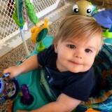 My grandson at 11 months 💕