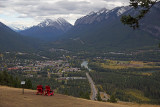 from Mt Norquay Scenic Drive