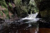 The Finnich Glen gorge