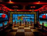 Ferry Pier to Jumbo Floating Restaurant.  Hong Kong Island South