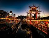 Ferry Pier to Jumbo Floating Restaurant, Hong Kong