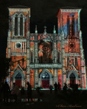 Light Show at The San Fernando Cathedral