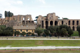 Coach stopped at Circus Maximus.  Coaches not allowed now in center city; glad saw this when we could.