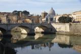 Bridge over Tiber near Vatican.