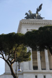One small part of the huge Vittorio Emanuele Monument