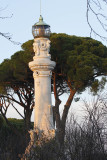 On G hill is this fake lighthouse - present to Rome from Italians living in Argentina