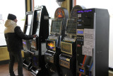 I took the included tour to/in Rome.  Coach stopped in nice store on highway.  Slot machines were in use.