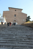 Long, very historic steps up to Aracoeli