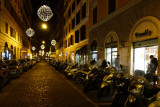 Loved being in Trastevere, and loved exploring at night.