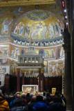Santa Maria Basilica - happened onto a Mass