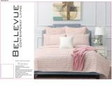 Blush Cotton Quilt Cover Set by Bellevue