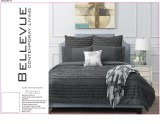 Charcoal Quilt Cover Sets by Contemporary Living