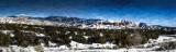Winter Panorama, Taos, New Mexico