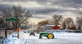 Wagner Farm in the Snow