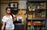 self-employed saleswoman