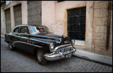 Buick with Alpine stereo....Havana old town